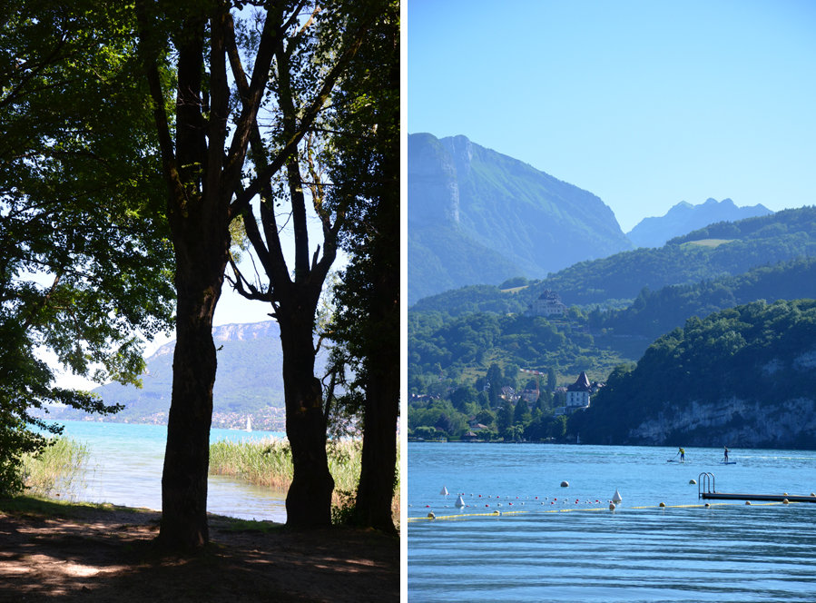 Un week-end au lac d'Annecy