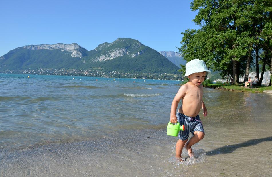 Week end lac annecy enfant