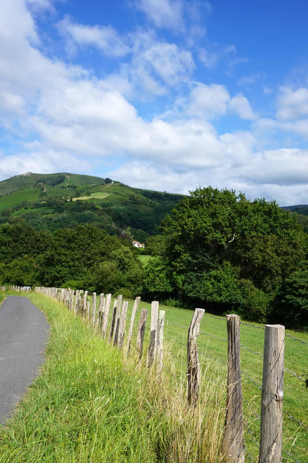 Pays-Basque : campagne environnante d'Ainhoa
