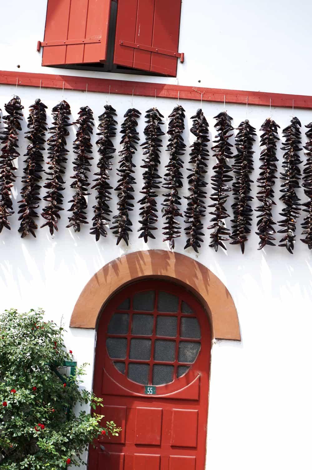 Pays-Basque : Espelette