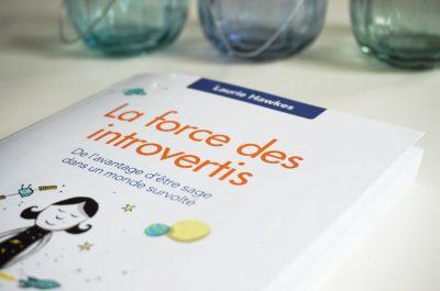 Livre de développement personnel : La force des introvertis