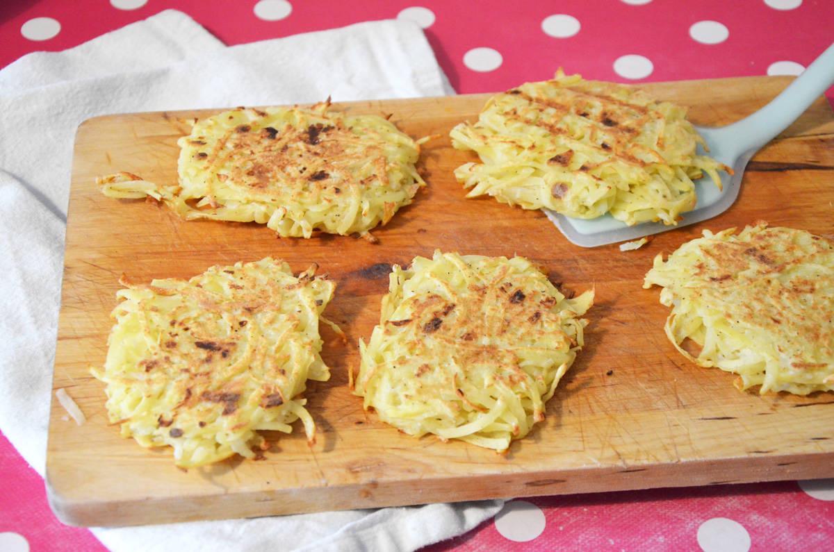 Rostï : galette de pomme de terre