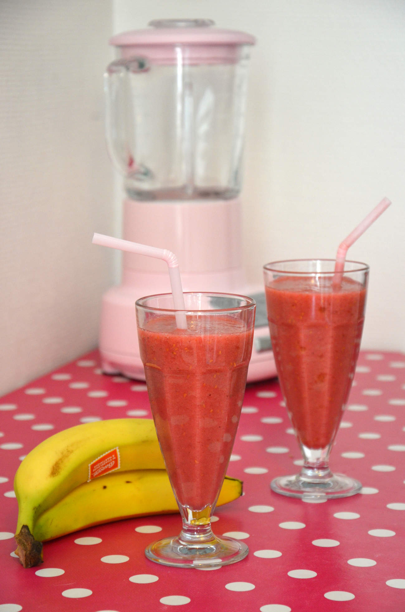 Recette smoothie banane
