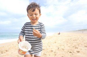 Vacances en famille dans Les Landes - les grandes plages de sable fin