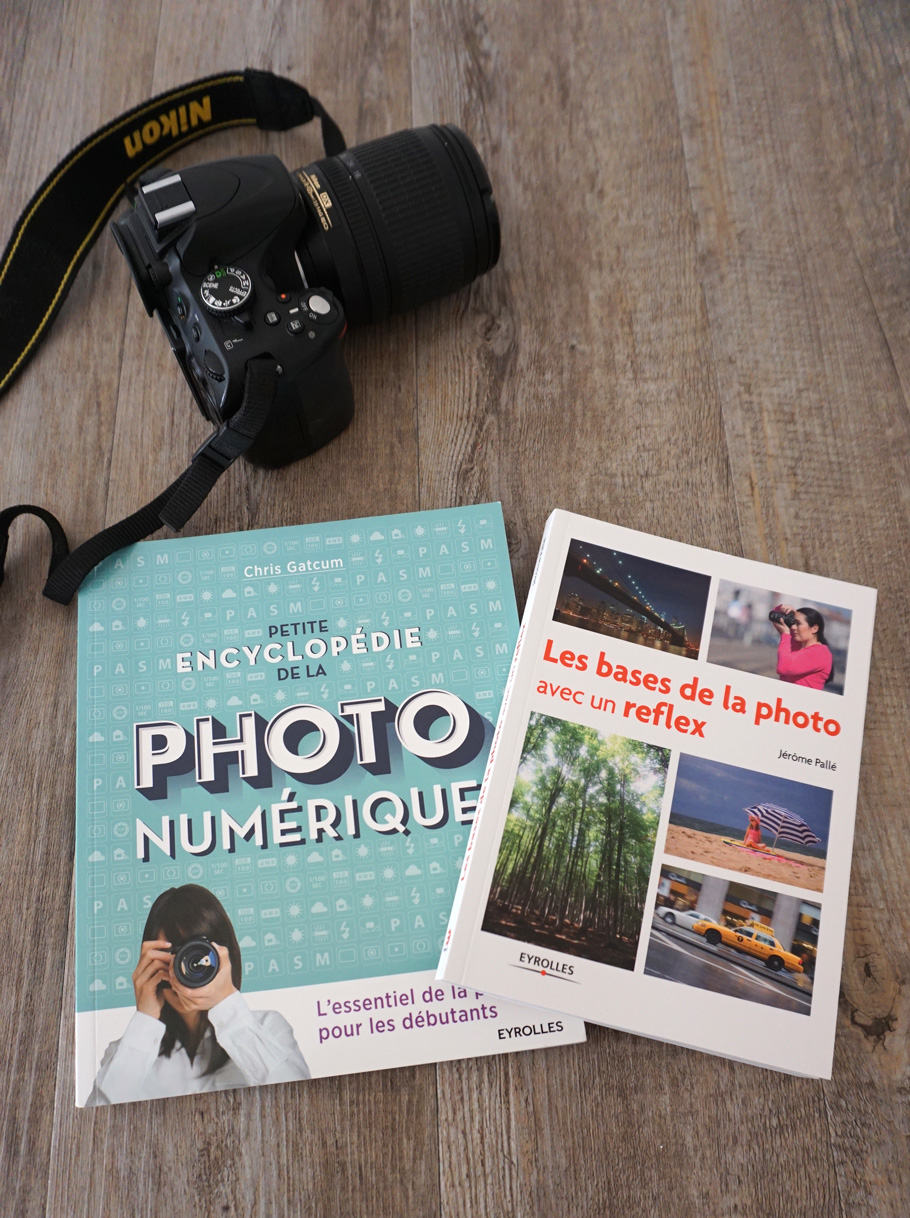 2 livres photo pour maîtriser la photo numérique et connaître les bases d'un reflex