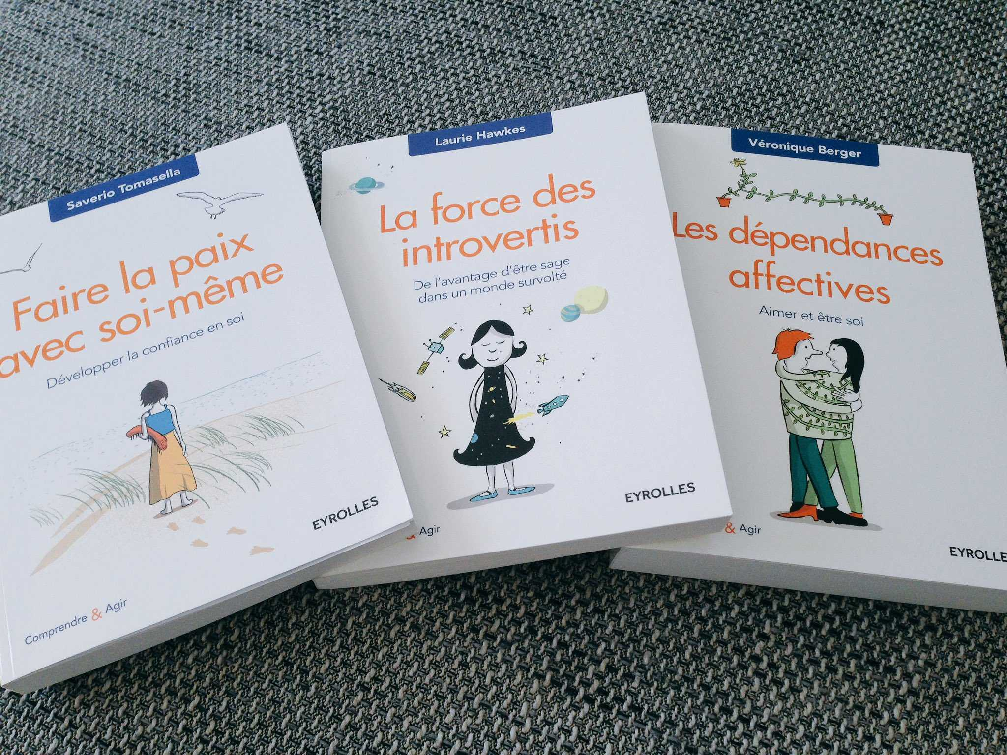 Collection Comprendre et Agir - Eyrolles : Livres de psychologie
