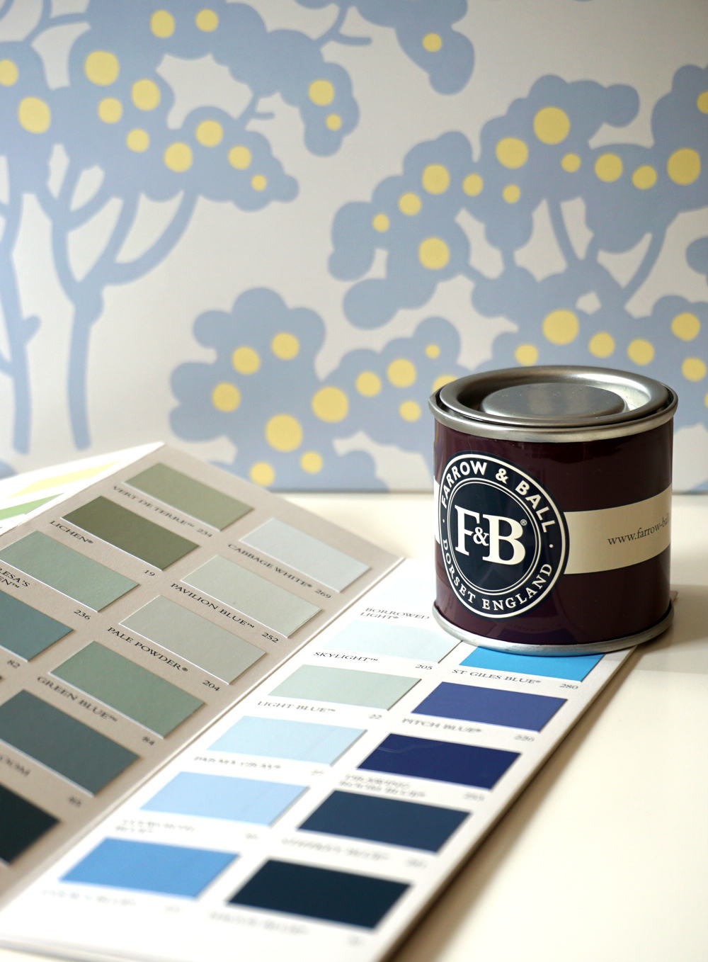 Nuancier Farrow and Ball