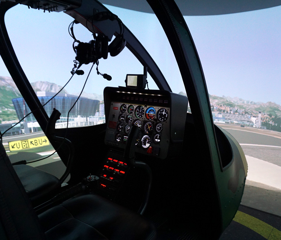 Simulateur d'hélicoptère : Aviasim Lyon