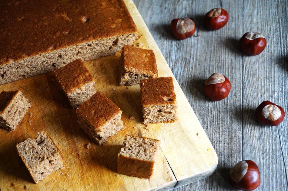 Gâteau moelleux à la châtaigne - Recette