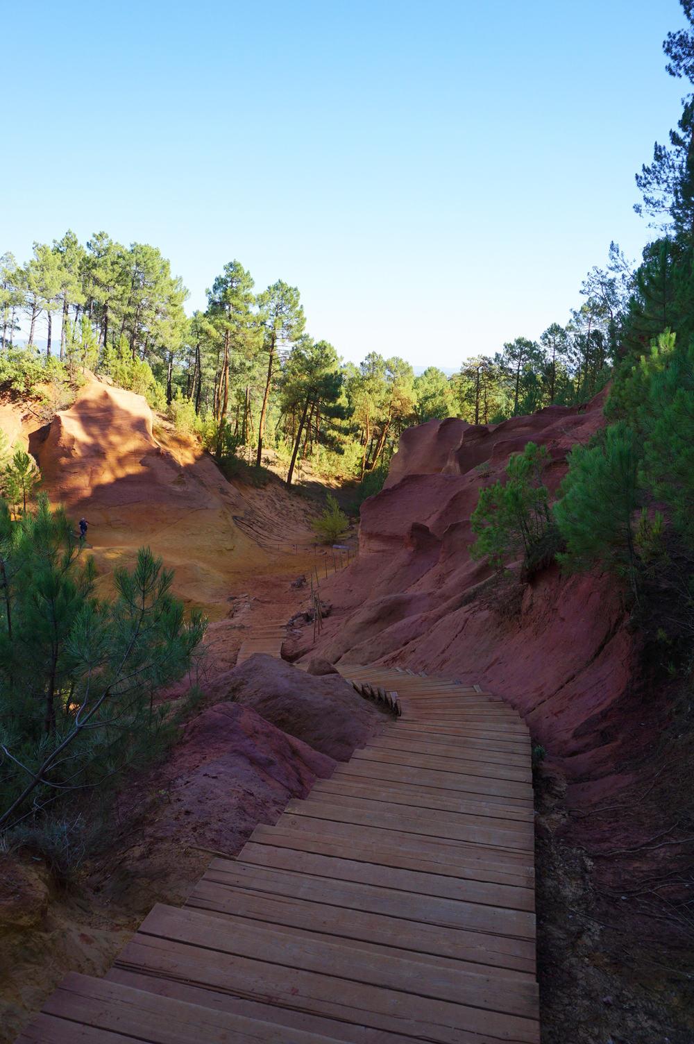 Un week-end dans le Lubéron : le sentier des Ocres à Roussillon, le Colorado provençal