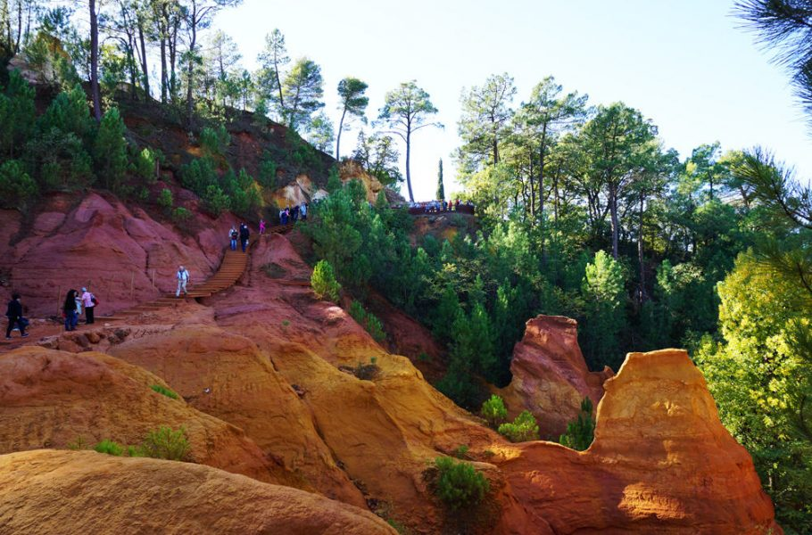 Un week-end dans le Lubéron : le sentier des Ocres à Roussillon