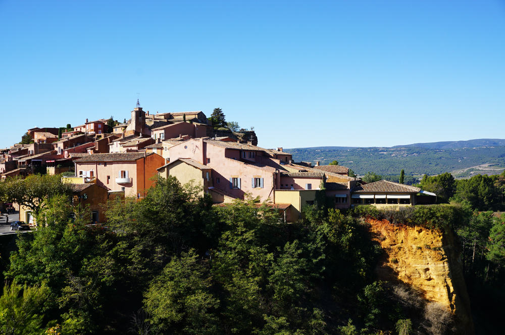 Un week-end dans le Lubéron : le village de Roussillon