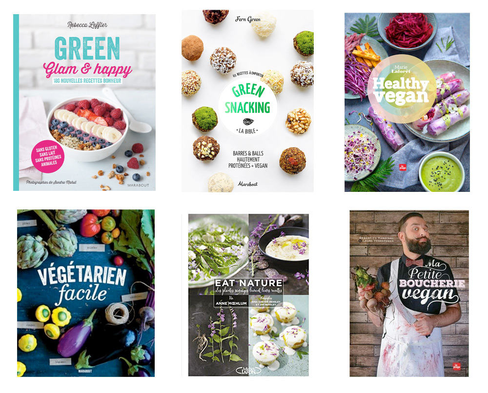 Idée cadeau : les livres de recettes de cuisine végétarienne et vegan - Nouveautés 2016
