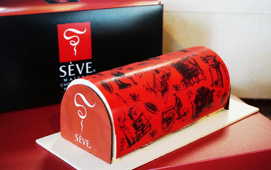 Bûche de Noël Ma chocolaterie Sève - Dégustation au Fourvière Hôtel