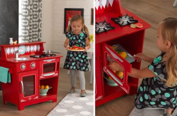 Cuisine enfant en bois Kidkraft pour jouer à la dinette