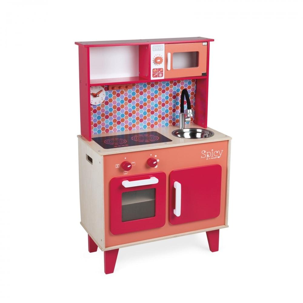 cuisine en bois jouet vertbaudet