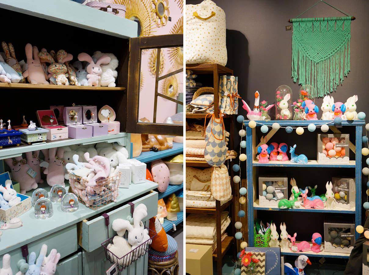 Boutique Concept store déco enfant à Lyon : Le petit Souk