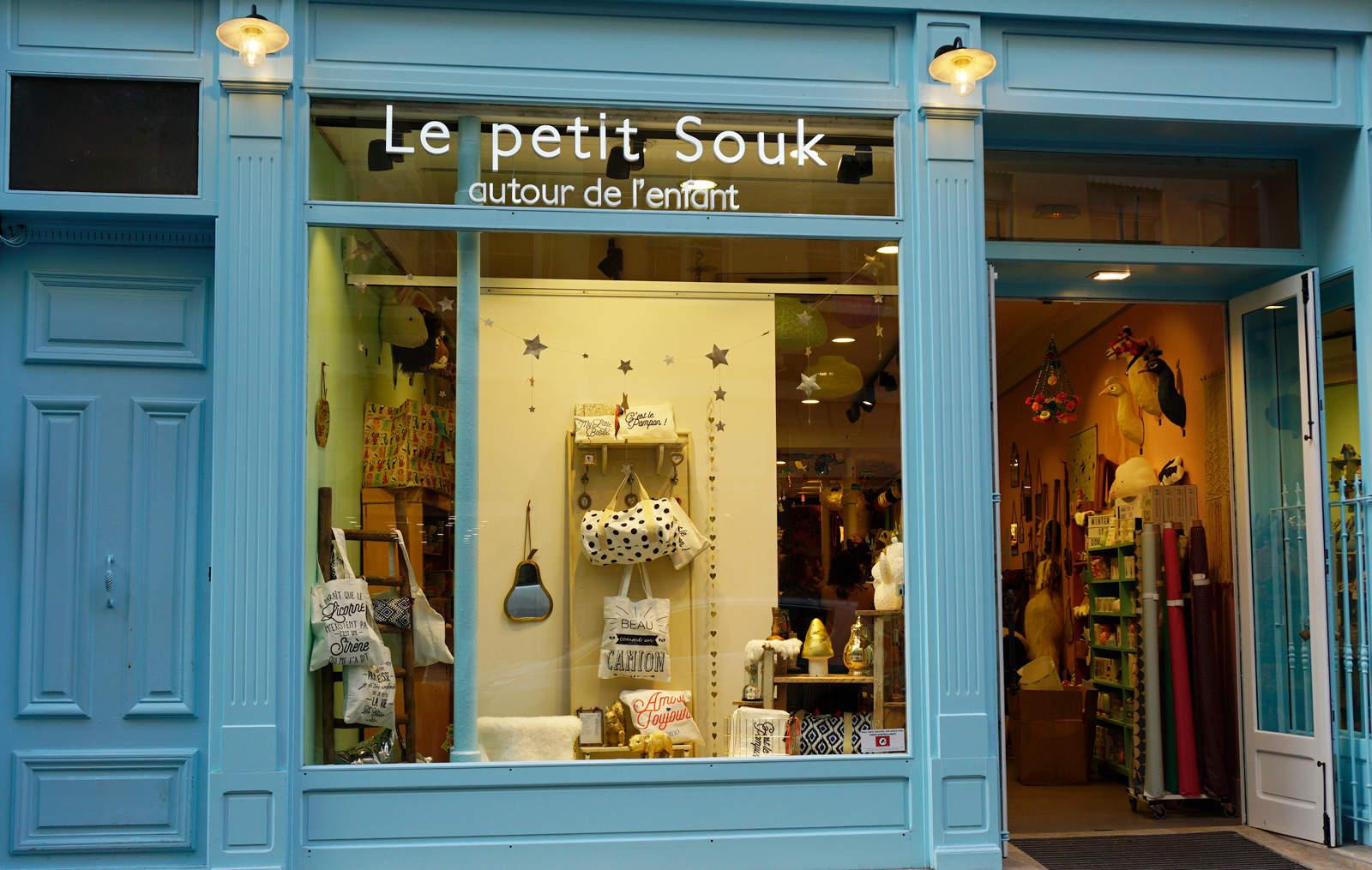 Concept store déco enfant à Lyon : Le petit Souk