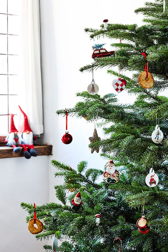 Déco de Noël chez Sostrene Grene - 2016