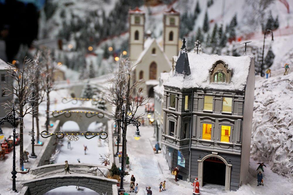 Miniworld lyon montagne neige