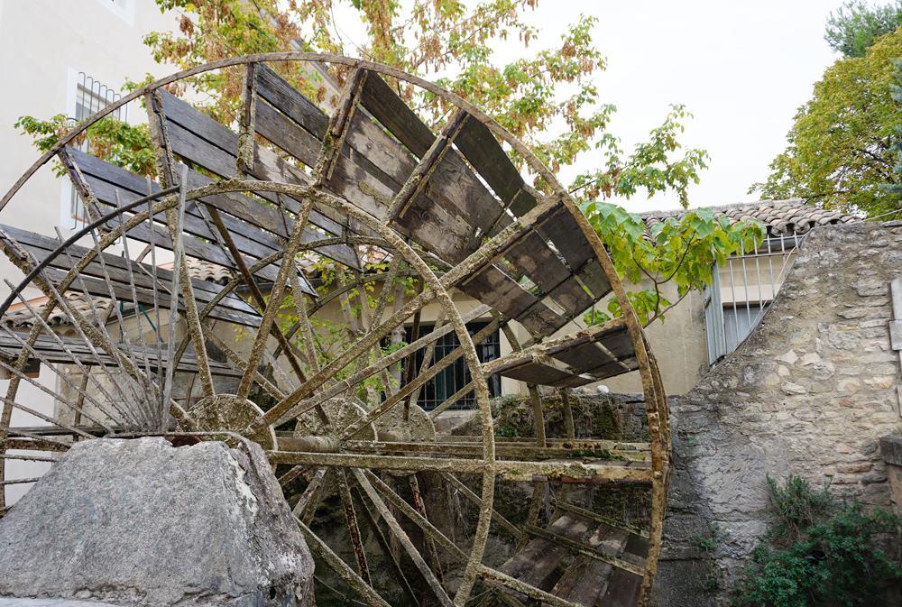 Roue à aubes L'Isle-sur-la-Sorgue