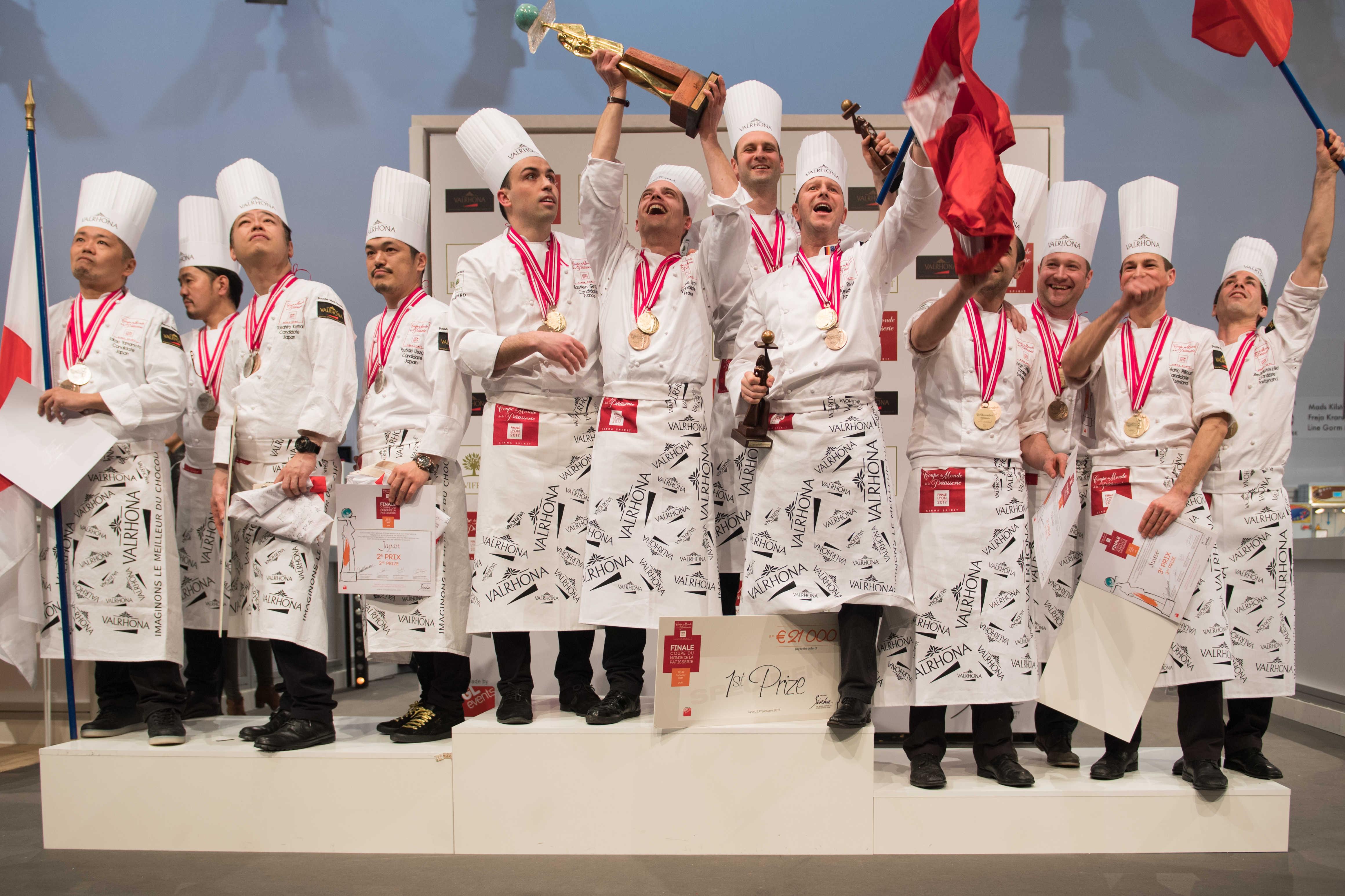 SIRHA 2017 : La finale de la coupe du monde de Pâtisserie