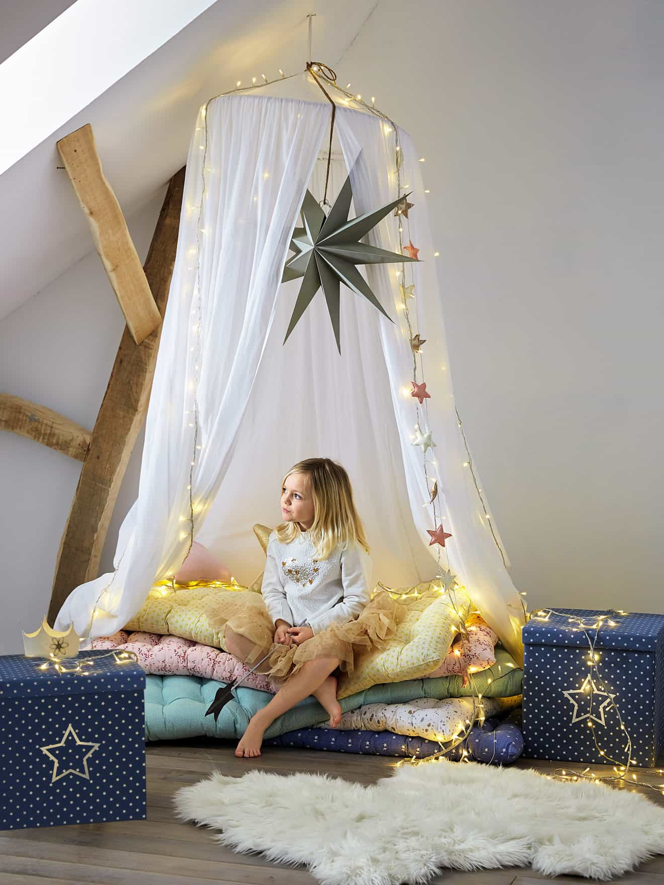 Decoration chambre vertbaudet for Deco enfant fille