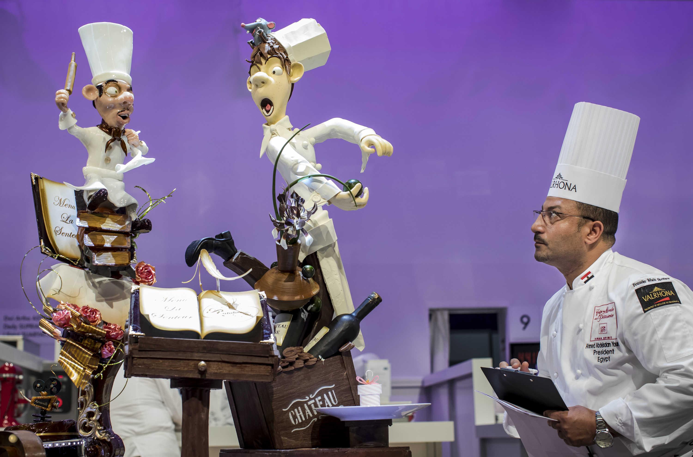 Coupe du monde de pâtisserie - SIRHA 2017 Lyon