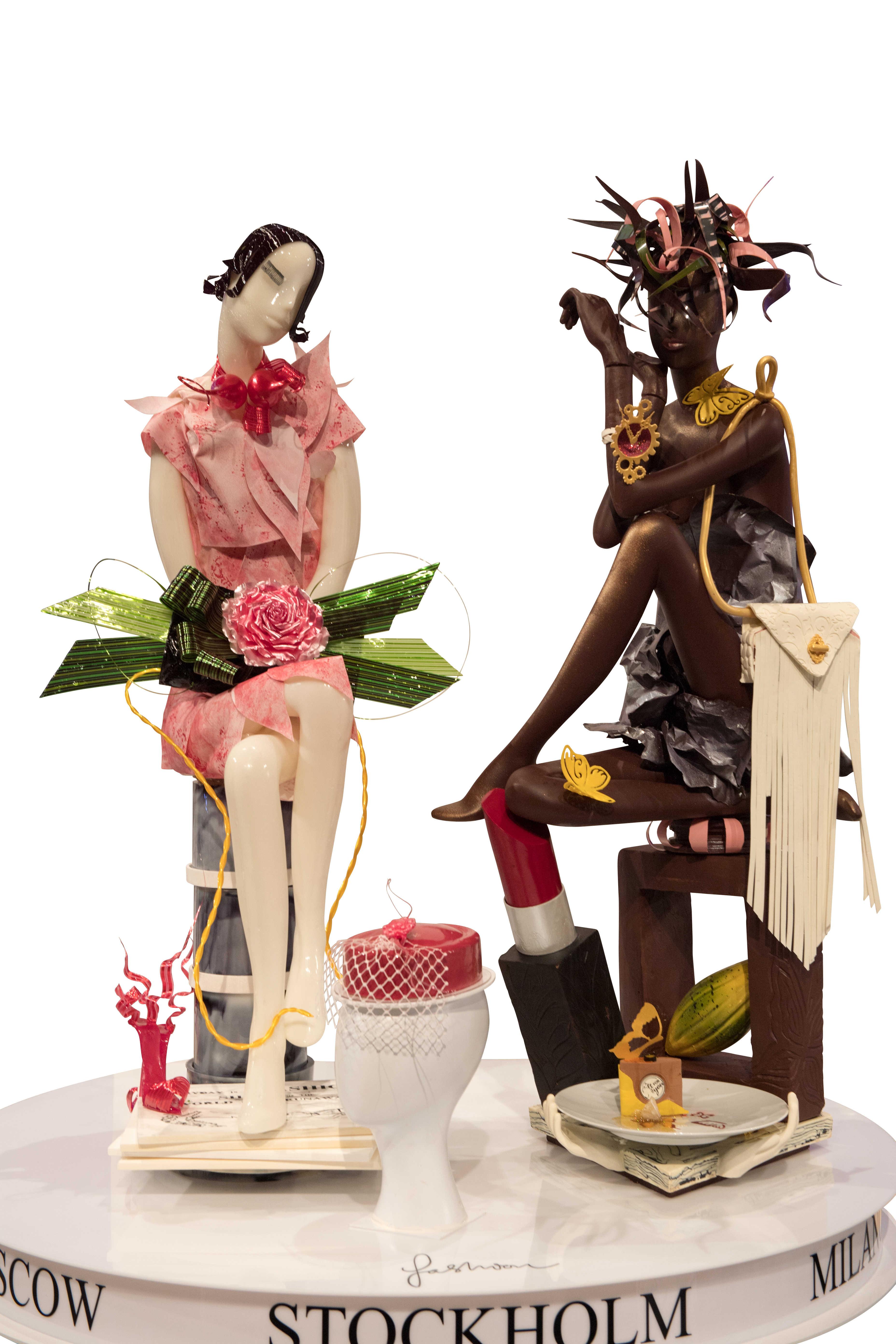 Coupe du monde de pâtisserie : sculpture en sucre et chocolat - Suède