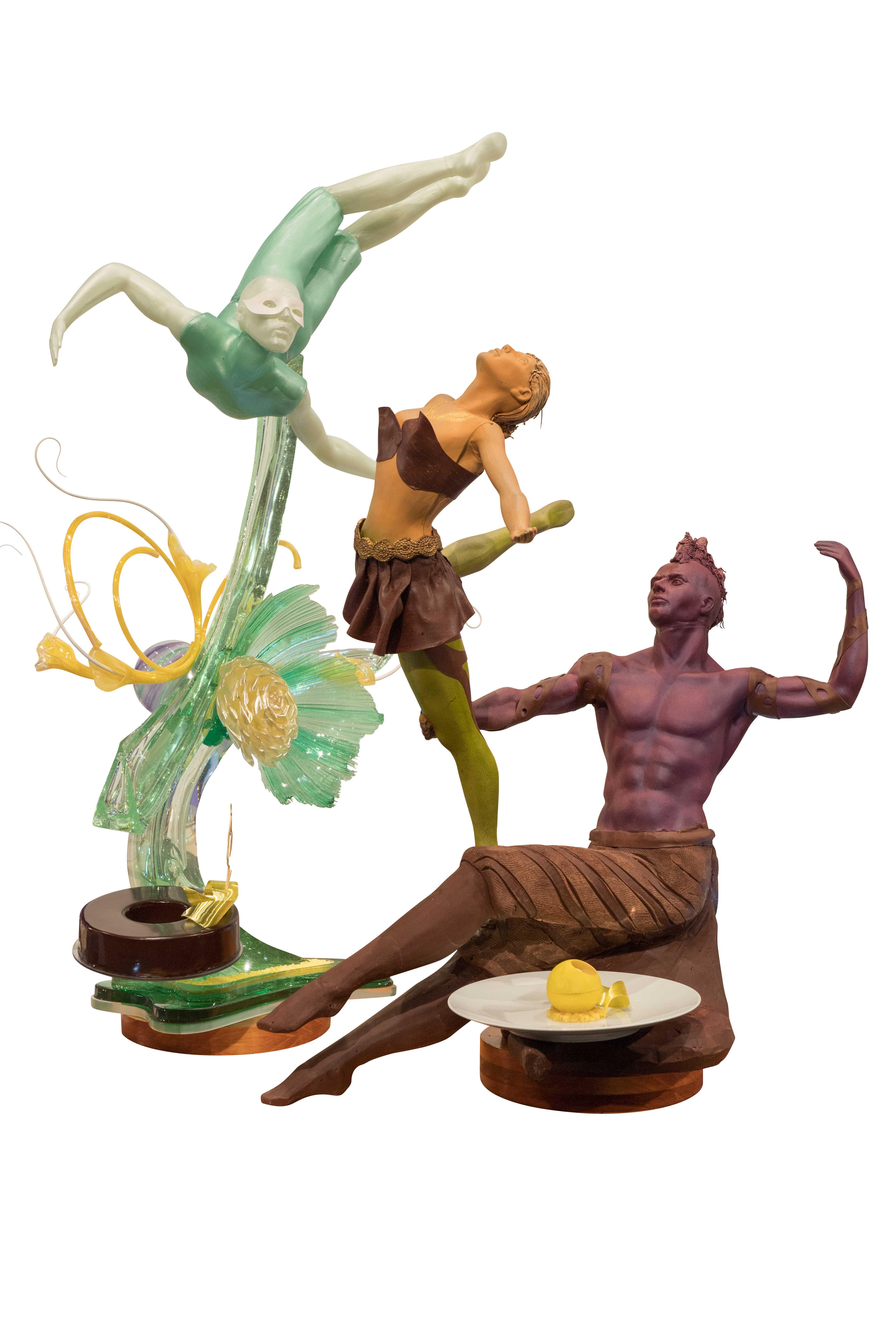 Coupe du monde de pâtisserie : sculpture en sucre et chocolat - USA