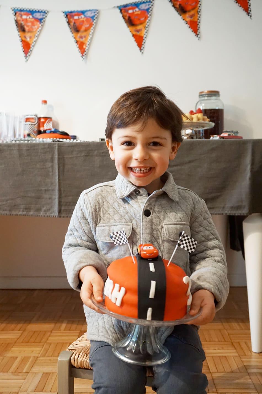 Anniversaire 3 ans : un goûter d'anniversaire sur le thème Cars Disney
