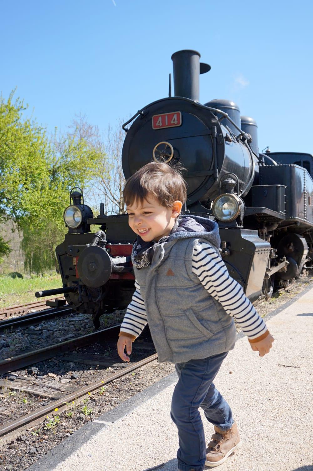 Autour de Lyon : le petit train d'Ardèche