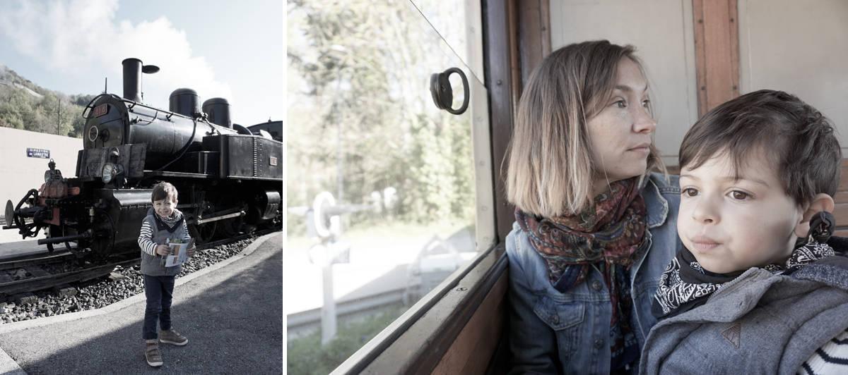 Autour de Lyon : le petit train d'Ardèche, une super sortie à faire en famille - Blog lifestyle Lyon