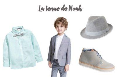 Enfant d'honneur : la tenue de mariage de Noah - Mode enfant
