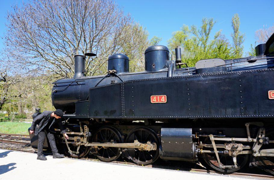 A 1h de Lyon, le petit train d'Ardèche - Locomotive vapeur