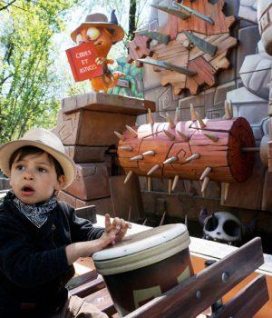 Autour de Lyon : une journée à Walibi Rhône-Alpes - Activité et sortie en famille