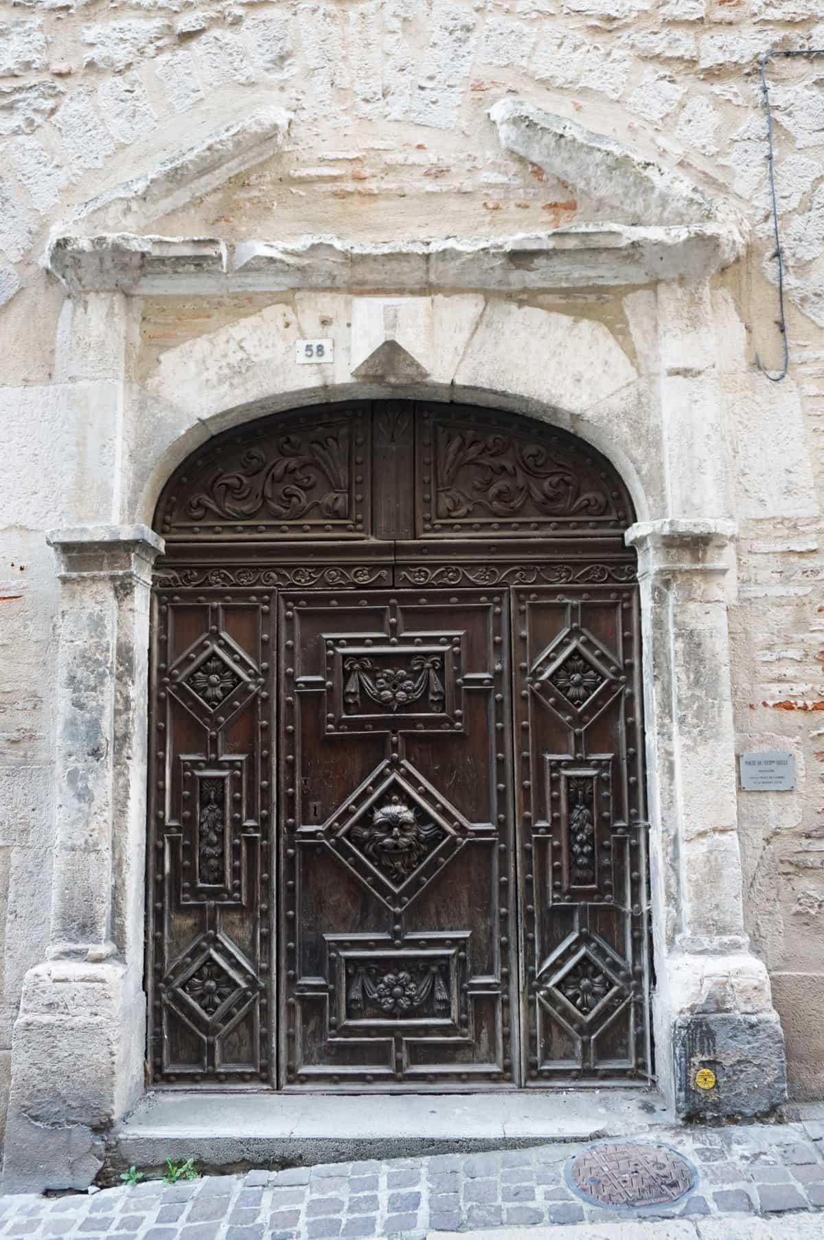 Vieille porte de Cahors - Lot