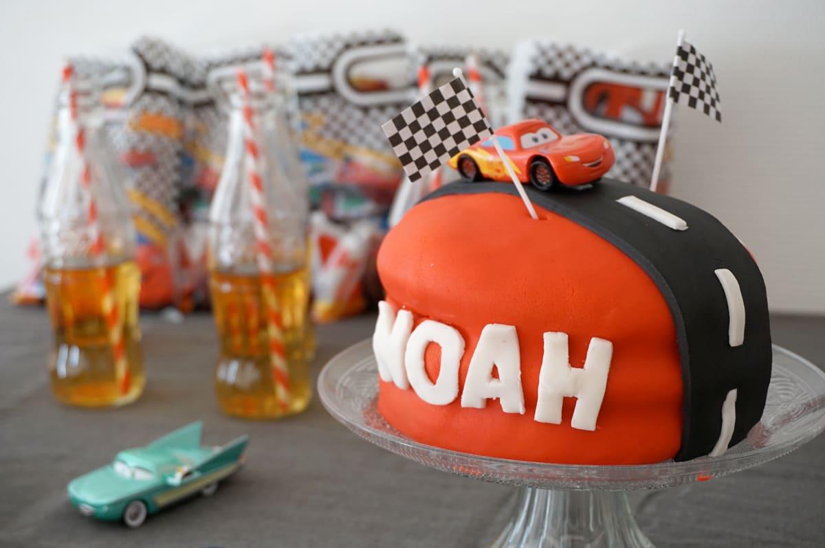 Gateau anniversaire cars ans