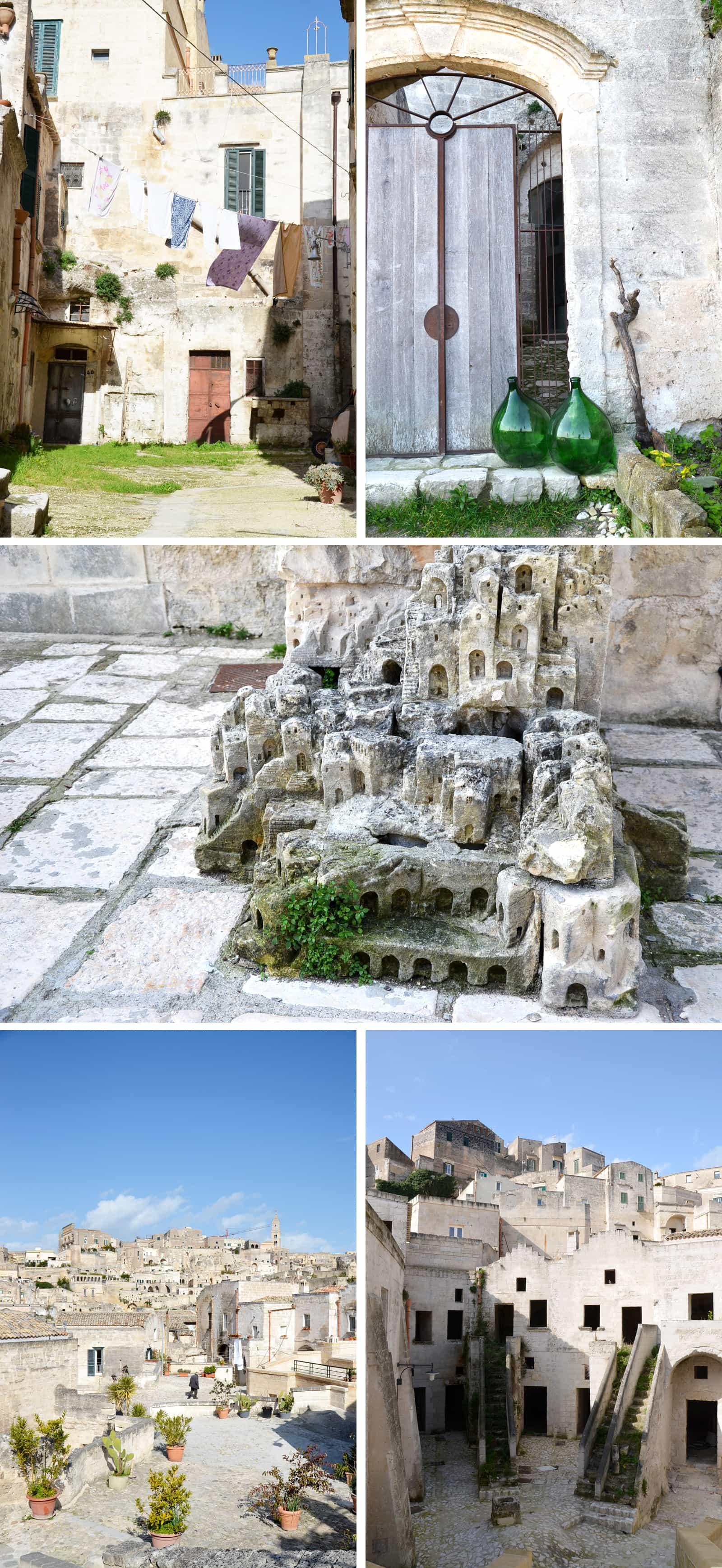 Les Sassi et les ruelles de Matera