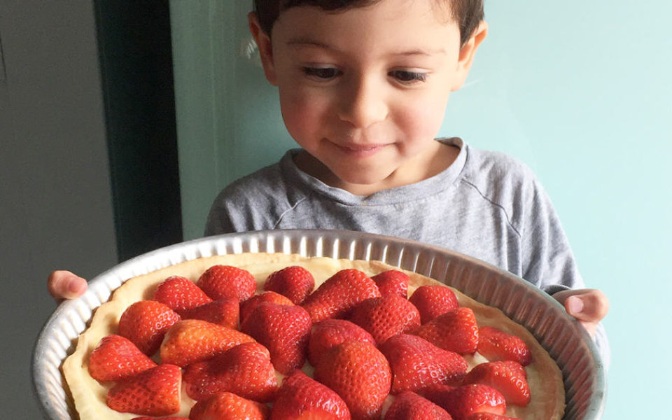 La tarte aux fraises rapide et facile