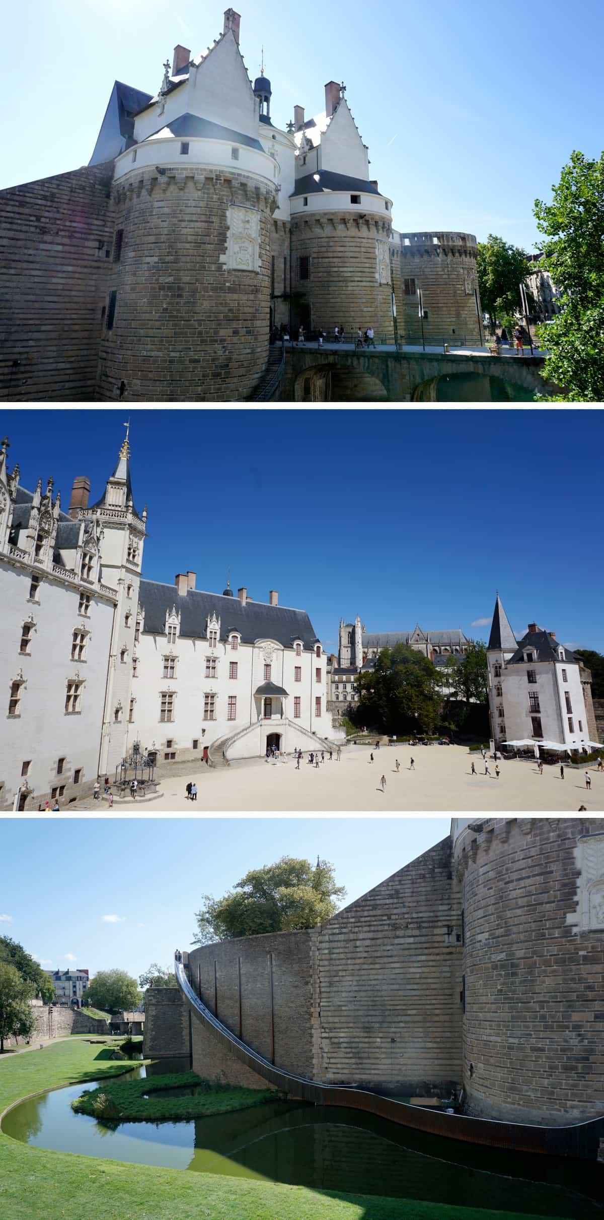 Visiter Nantes : le château des ducs de Bretagne