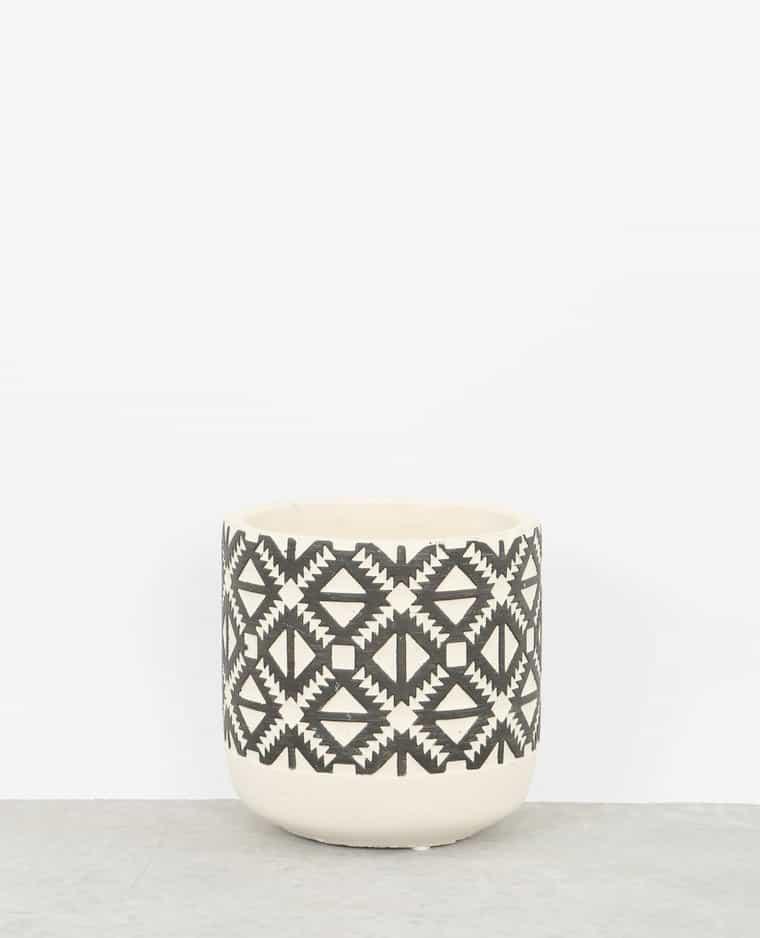 Déco bohème : cache-pot plantes en céramique - Pimkie Home