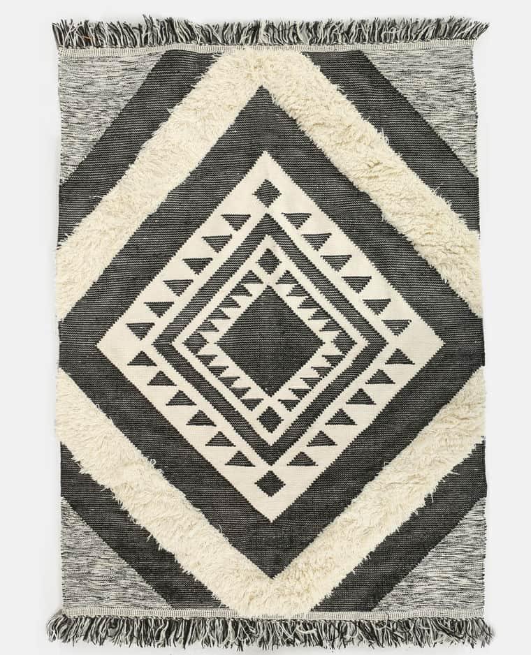 Déco bohème : grand tapis berbère Pimkie Home
