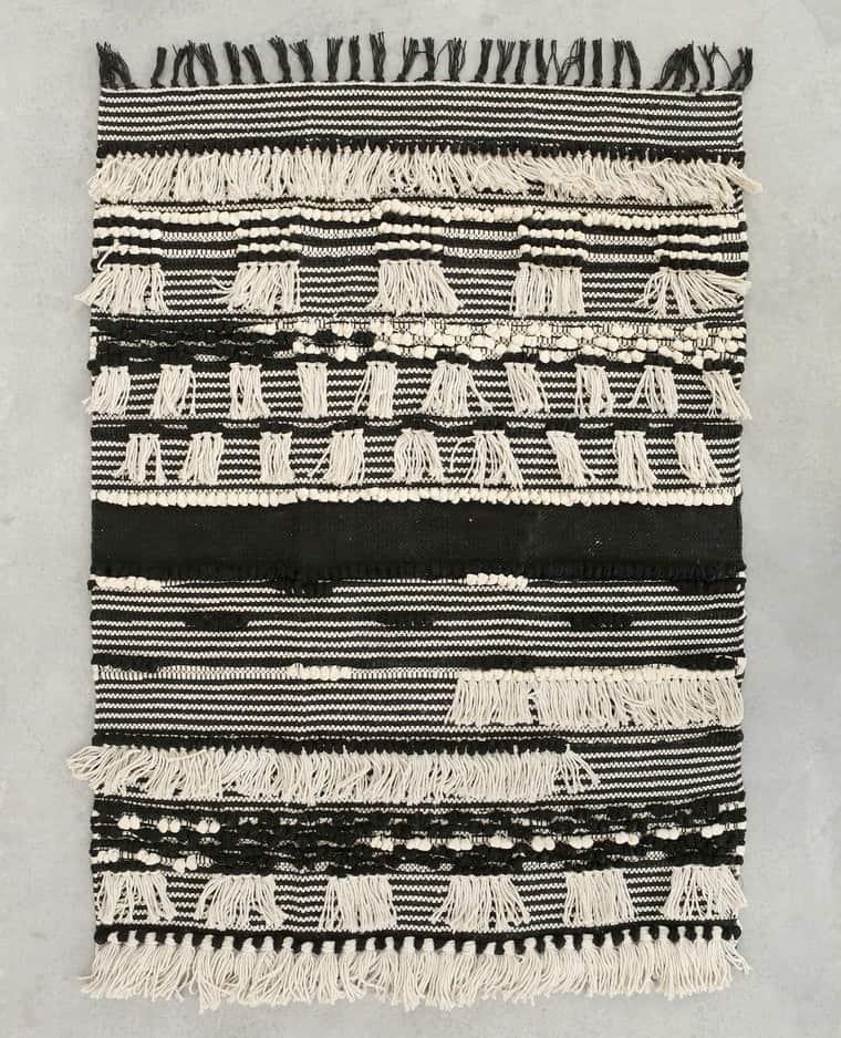 Déco bohème : tapis berbère - Pimkie Home