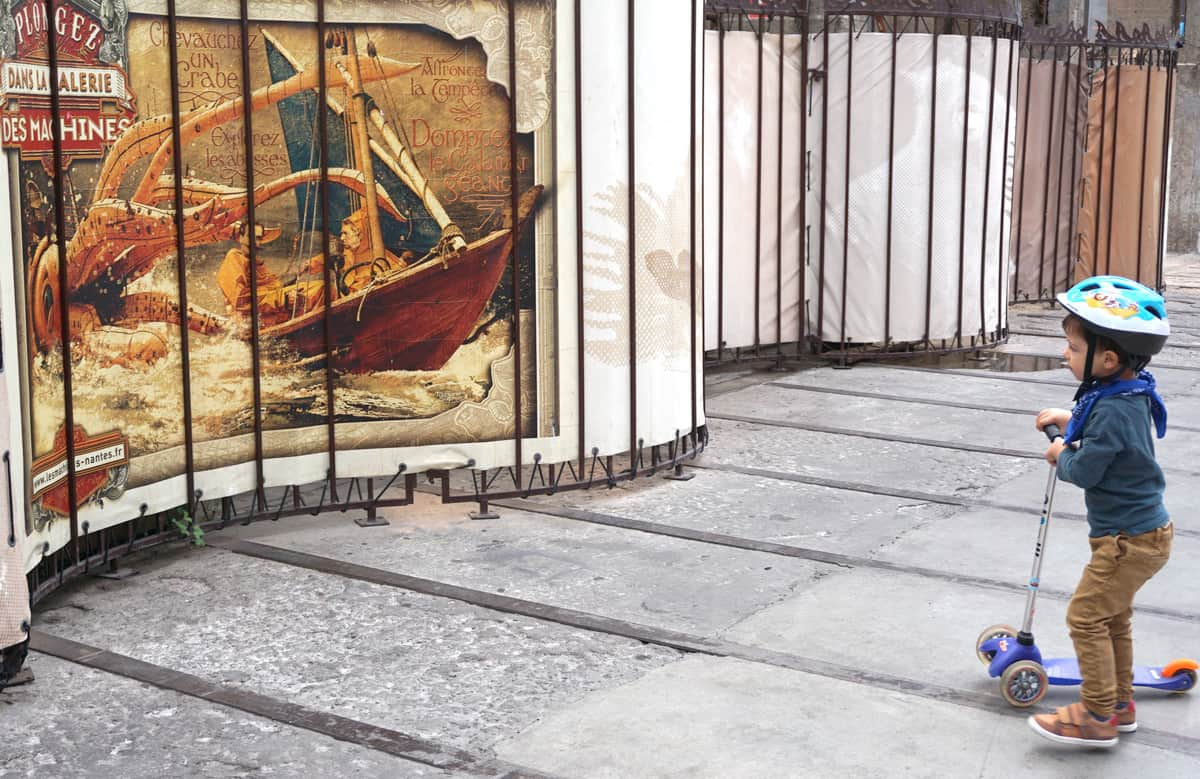 Visiter Nantes avec des enfants : l'île de Nantes