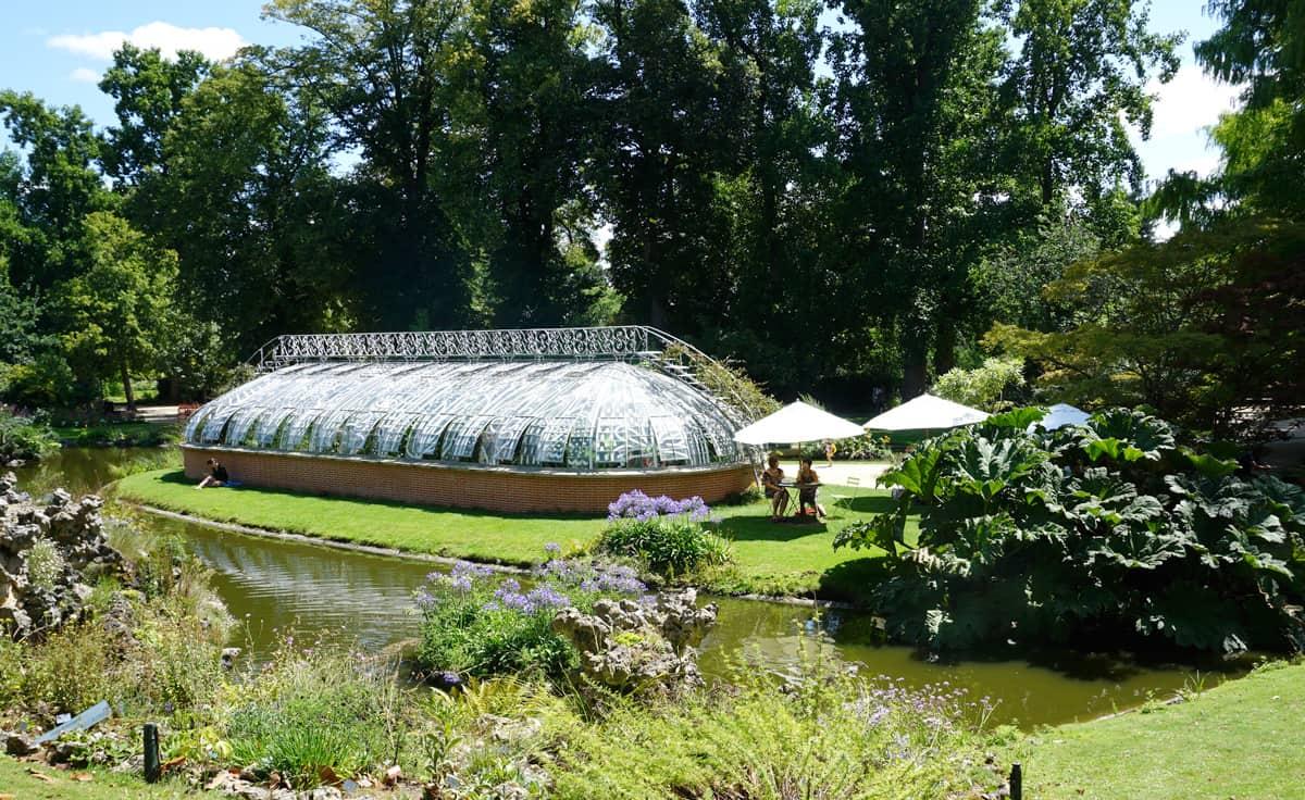 Le jardin des Plantes à Nantes