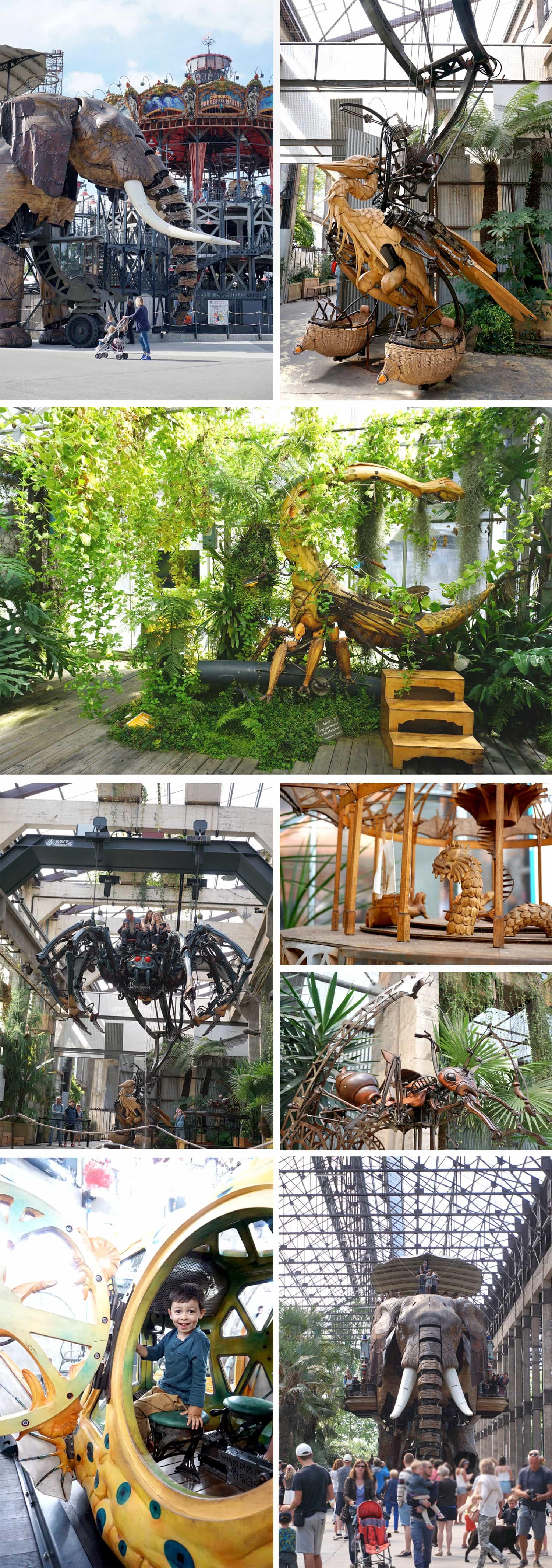 Visiter Nantes : les machines de l'Île