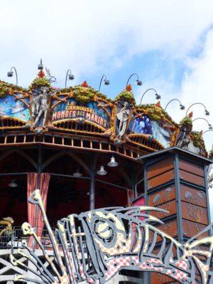 Visiter Nantes avec des enfants : le carrousel des Mondes Marins