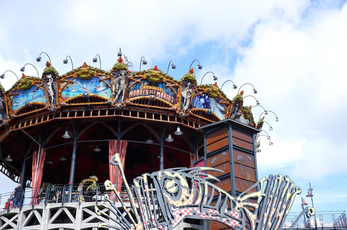Nantes carrousel mondes marins