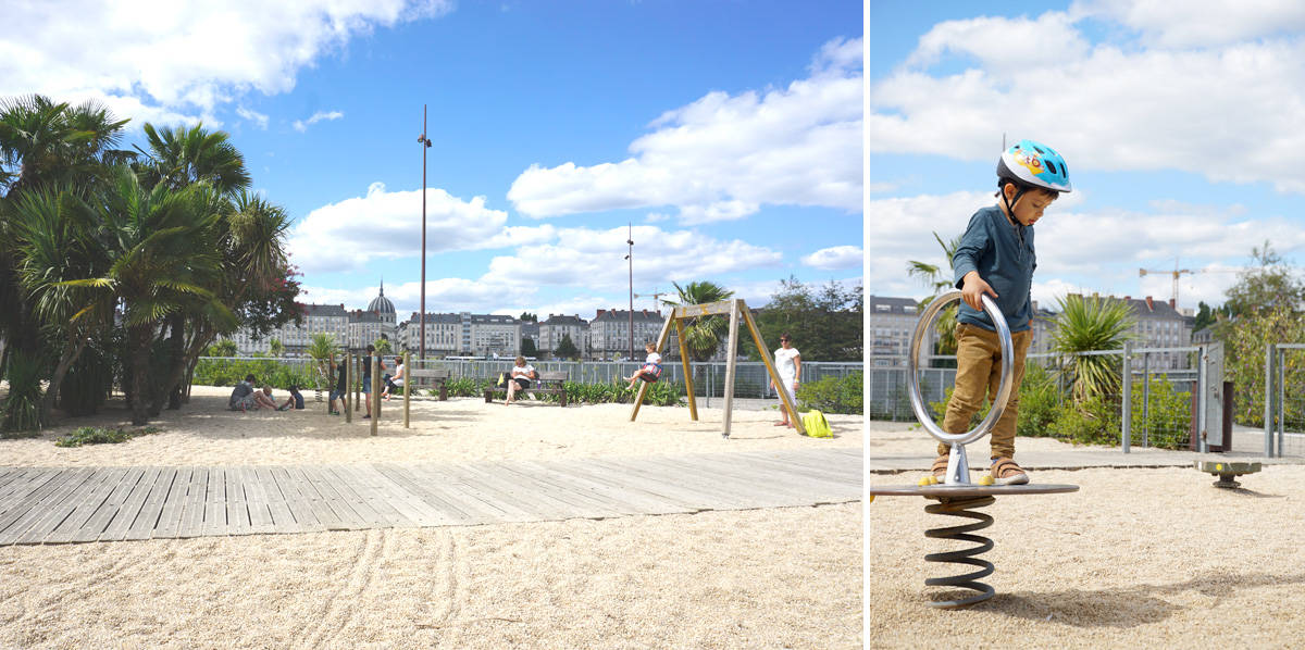 Île de Nantes : le jardin des voyages